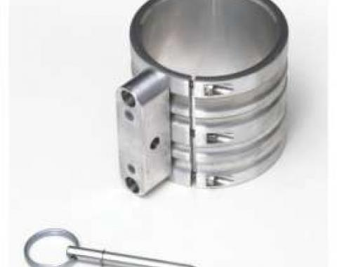Fire Extinguisher Mounting Clamp, Billet Aluminum, 2.6 Diameter