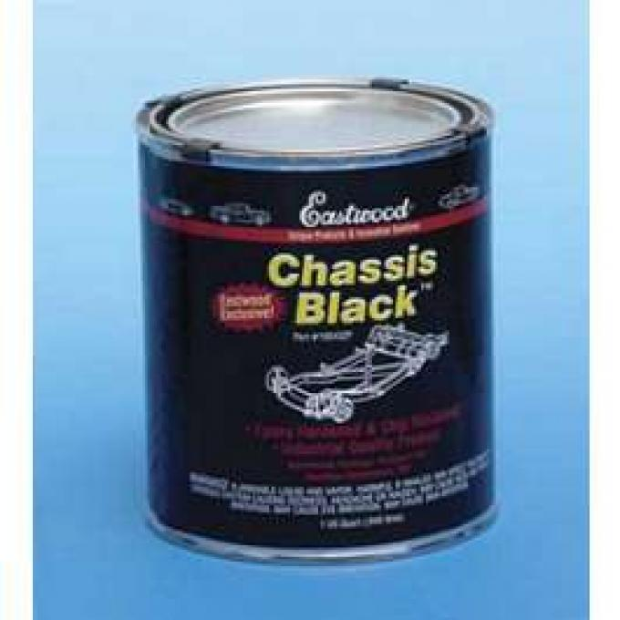 Chassis Paint, Satin Black