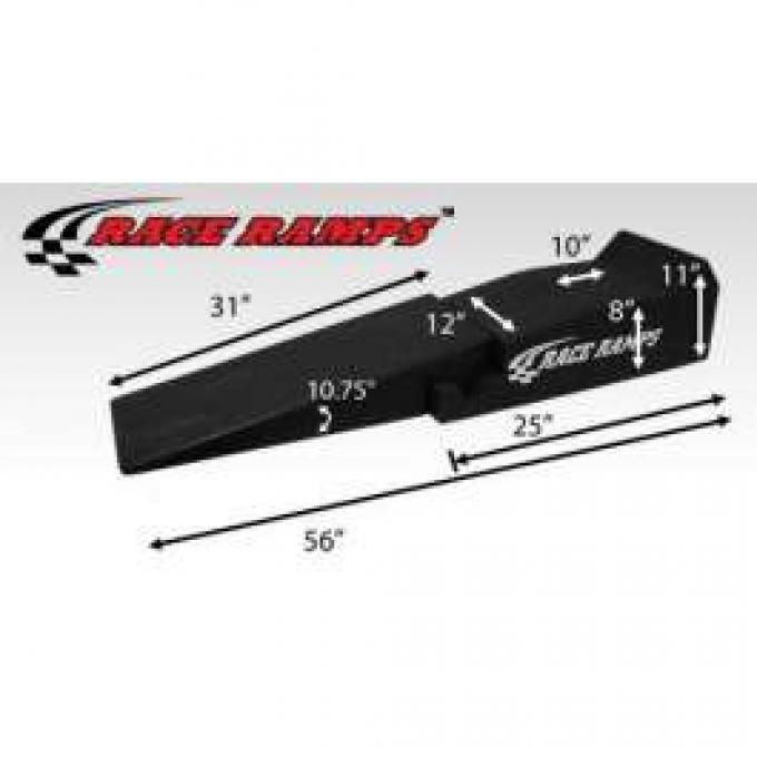 Race Ramps, 2-Piece, 56 Long