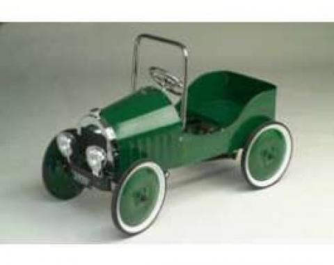 Pedal Car, Roadster, Green