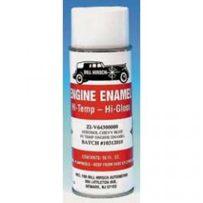 Engine Spray Paint, 6-Cylinder, Blue