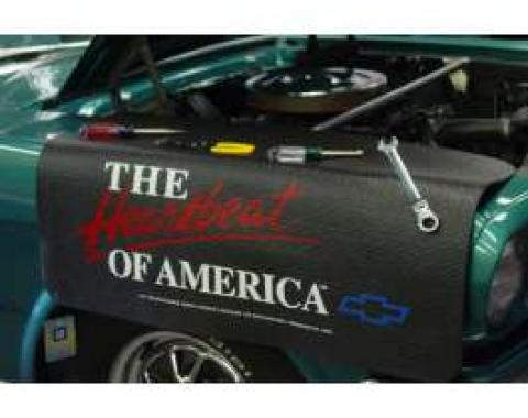 Fender Gripper® Cover, Black With Heart Beat Logo