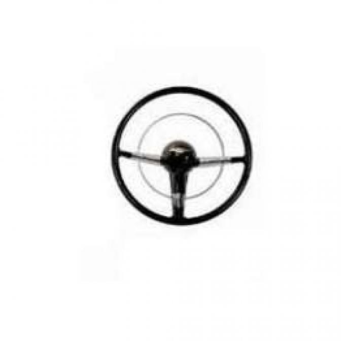 Chevy Steering Wheel, Retromod, 16 Diameter, Bel Air, 1955-1956