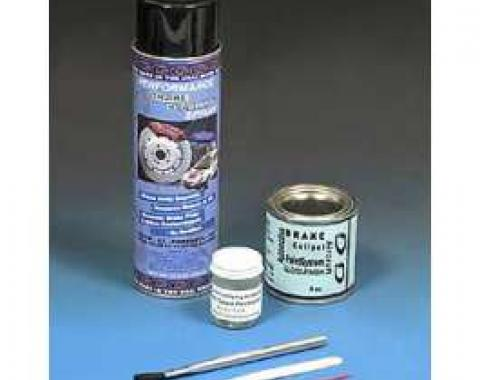 Brake Caliper Paint System, Black
