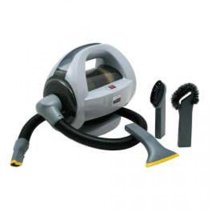Auto-Vac 120V Portable Bagless Vacuum With Accessories