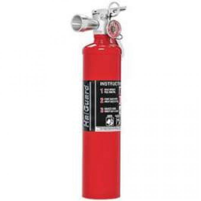 Fire Extinguisher, H3R Halguard, Red, 2.5 Lb.