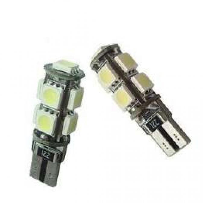 Light Bulbs, 194 / 168 Hyper White 3 Chip SMD LED