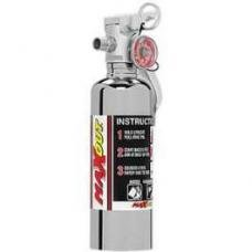 Fire Extinguisher, H3R MaxOut, Chrome, 1 Lb.
