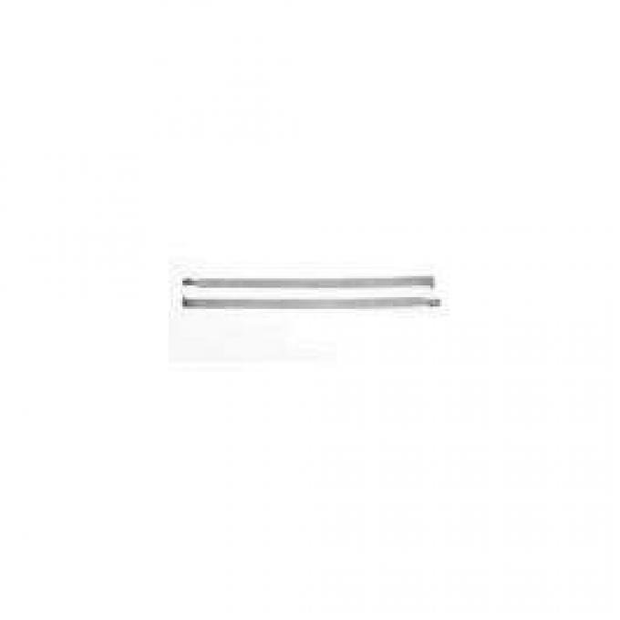 Chevy Gas Tank Strap Kit, Stainless Steel, Wagon, Nomad, Sedan, Delivery, 1955-1957