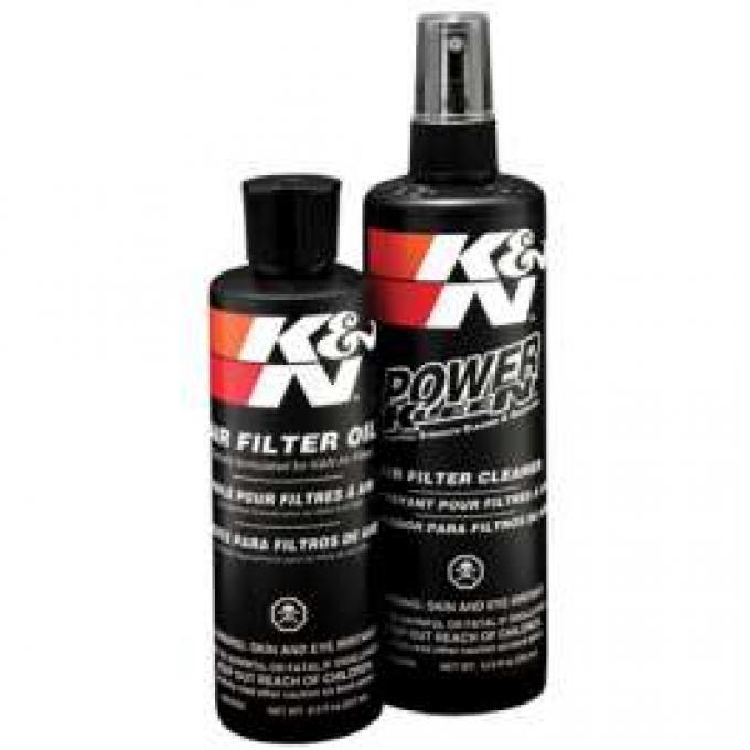 Air Filter Recharger Kit, K&N