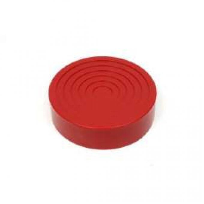 Hydraulic Floor Jack Pad, 7-1/4 Diameter, Polyurethane, Prothane