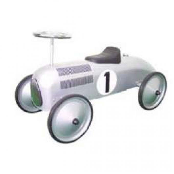 Ride-On Car, Racer, Silver