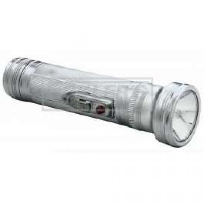 Chrome Vintage Flashlight