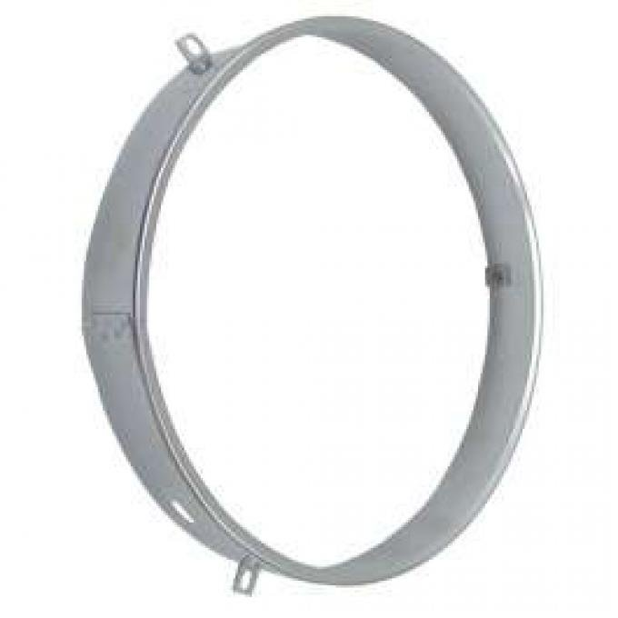 Chevy Retaining Ring, Headlamp Seal Beam, Stainless Steel, Best Quality, 1955