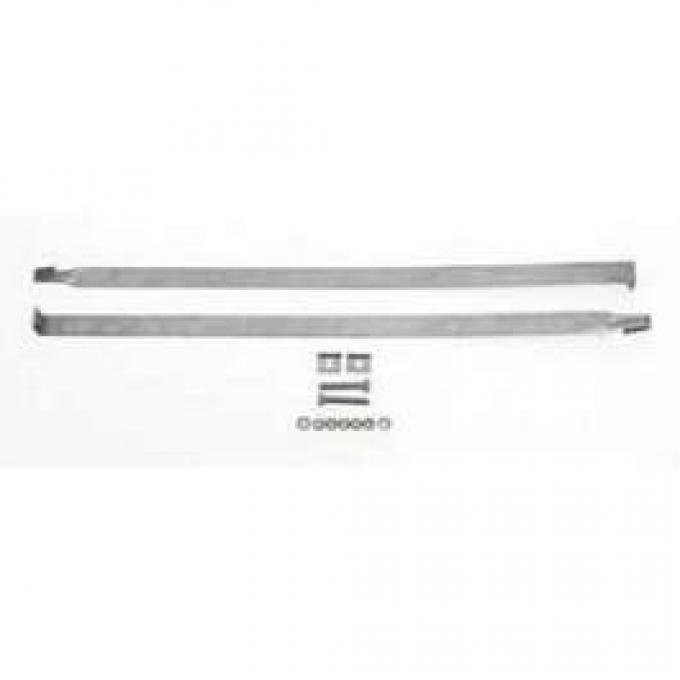 Chevy Gas Tank Mounting Straps, Nomad, Wagon & Sedan Delivery, 1955-1957