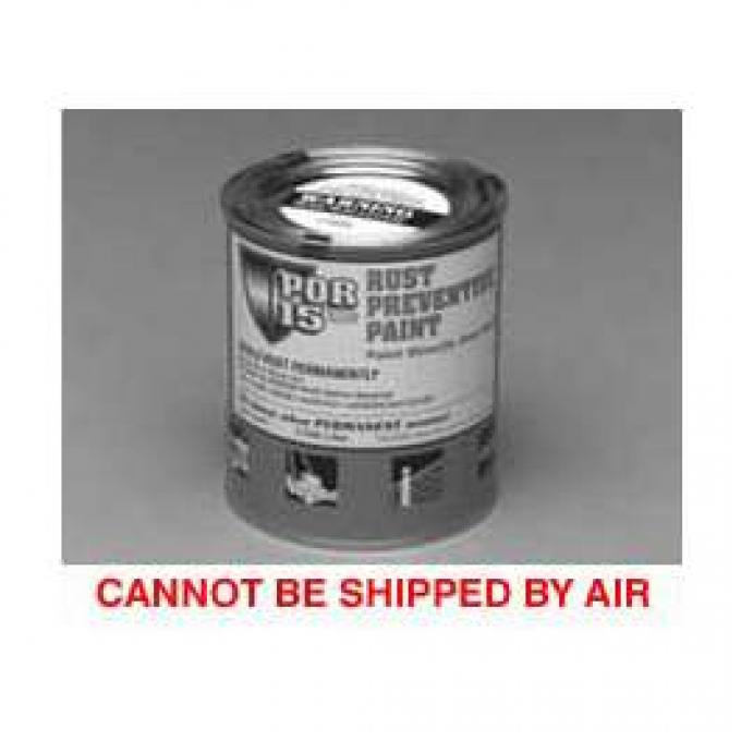 Rust Preventive Paint, Black, Semi-Gloss, Quart, POR-15?