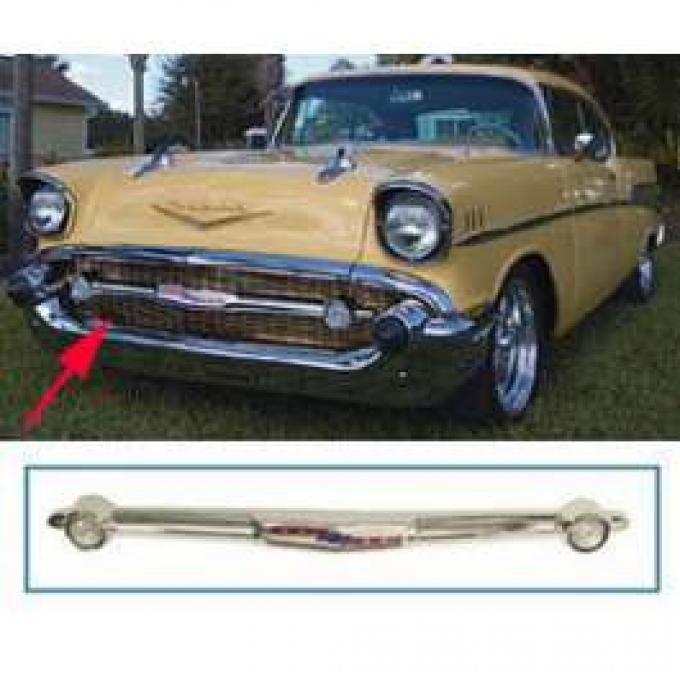 Chevy Grille Bar, Improved Style, 1957