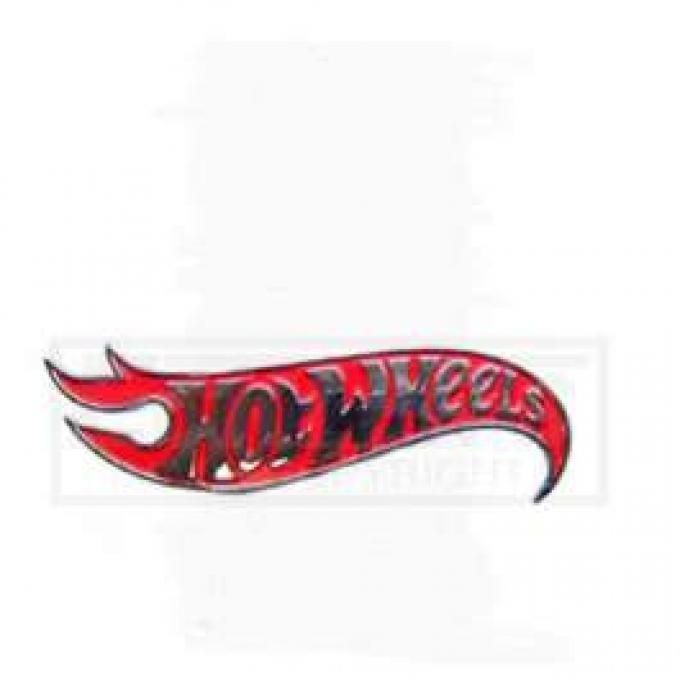 Chevy Hot Wheels Edition Emblem, Trunk, 1955-1957