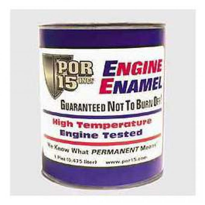 Chevrolet Engine Paint, Orange, POR-15?