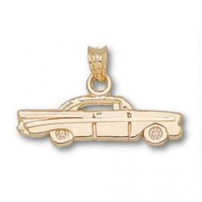 Chevy Pendant, 1957, 14KT Gold