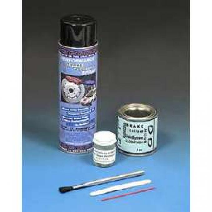 Brake Caliper Paint System, Red