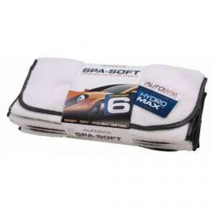 Microfiber Detailing Towels, 6-Pack