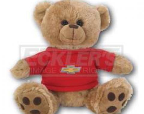 Chevy Themed Plush Stuffed Brown Teddy Bear