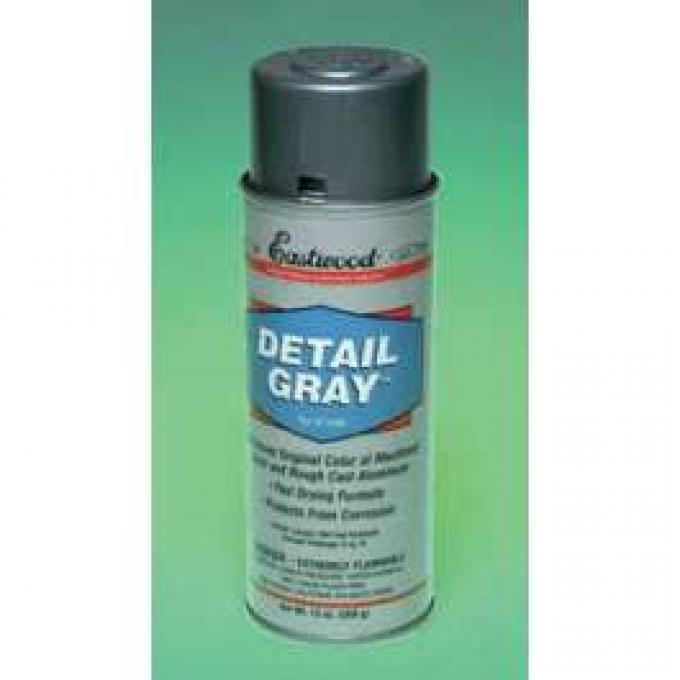 Detail Spray Paint, Gray