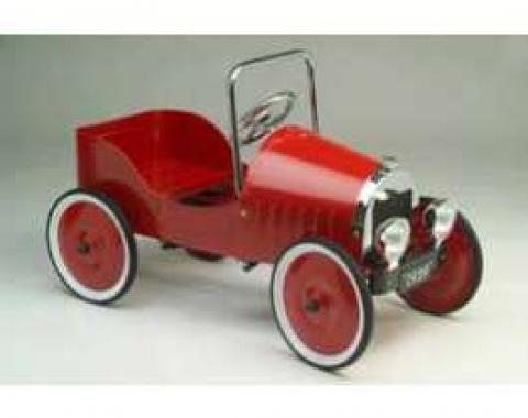 Pedal Car, Roadster, Red