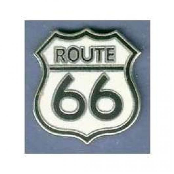 Hat/Lapel Pin, Route 66