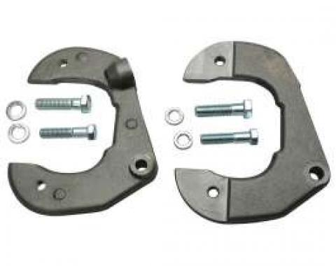 Chevy Disc Brake Brackets, For Mustang II, Chevy Bolt Pattern, 1949-1954