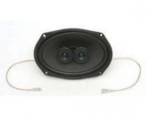 Chevy Speaker, 6 x 9 140 Watts, Dual Coil, Custom Autosound, 1949-1954