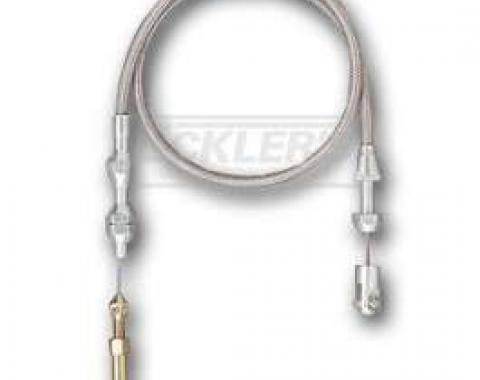 Early Chevy Throttle Cable, Small Block Or Big Block Conversion With Carburetor, Lokar, 1949-1954