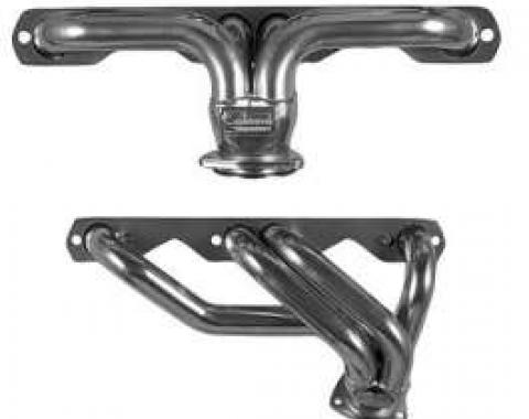 Chevy Headers, Sanderson, Small Block V8, For Stock Front Suspension, 1949-1954