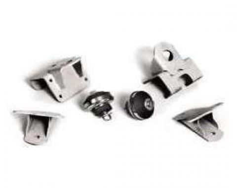 Chevy Engine Mounts, Small Block V8, Bolt-In, 1949-1954