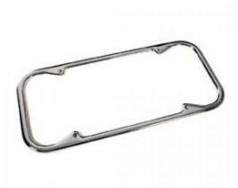 Chevy License Plate Frame, California Style, 1949-1954