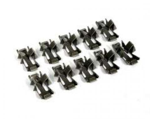 Chevy Beltline Molding Clips, 1949-1952