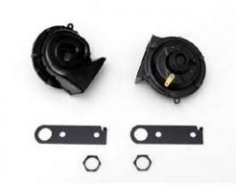 Chevy Horns, Replacement, 12-Volt, 1949-1954