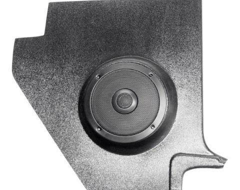 Custom Autosound Falcon/Ranchero/Comet Kick Panels with 80 Watt Speakers, All Except Convertible, 1960-1965