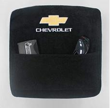 Seat Armour Chevrolet, Jump Seat, 2014-2017,  Konsole Cover™ with Pocket, Black, KACHVJS14-17