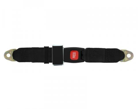 "Seatbelt Solutions Universal Lap Belt, 74"" with GM Buckle"