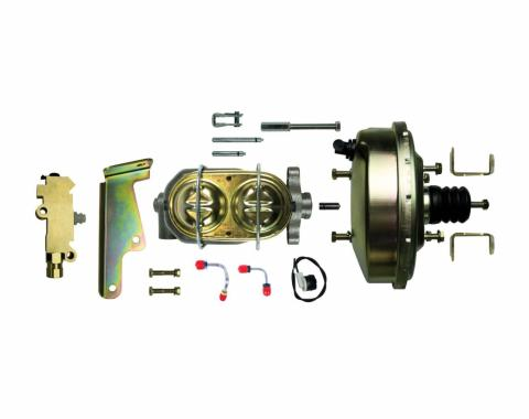 """Right Stuff Upper Assembly with Gold Booster, 1.125"""" Bore, Valve, Lines and Brackets G91020971"""