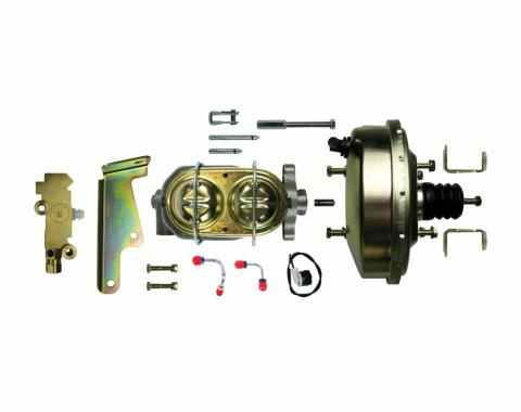 """Right Stuff Upper Assembly with Gold Booster, 1"""" Bore, Valve, and Brackets G91020572"""