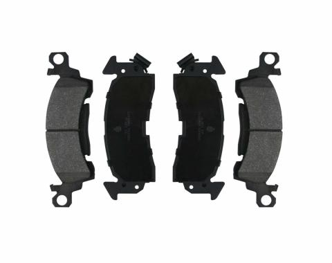 Right Stuff 69 - 72 Single Piston Brake Pads; 4 Pcs. DP02