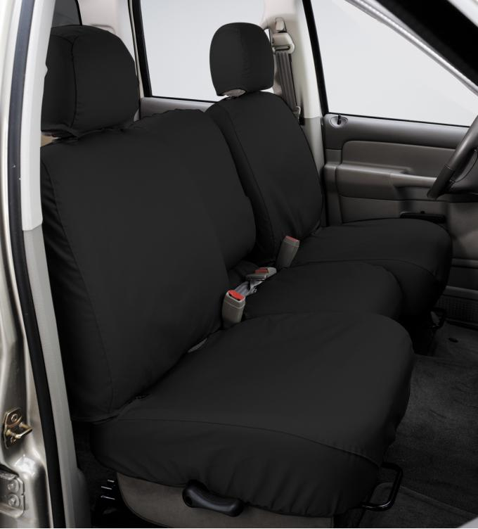 Covercraft 2013-2019 Ford Escape SeatSaver Custom Seat Cover, Polycotton Charcoal SS7467PCCH