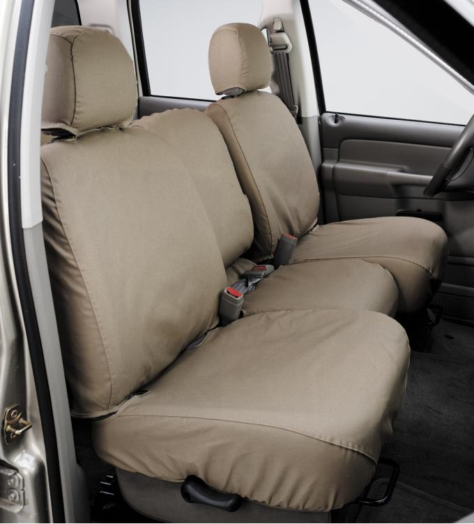 Covercraft SeatSaver Custom Seat Cover, Polycotton Taupe SS7385PCTP