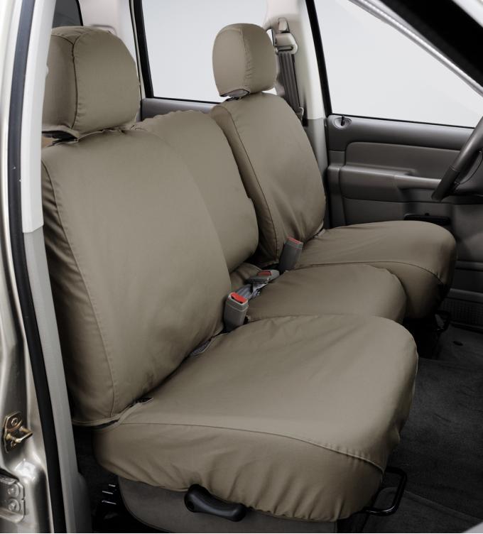 Covercraft 2013-2014 Ford Flex SeatSaver Custom Seat Cover, Polycotton Wet Sand SS8432PCSA