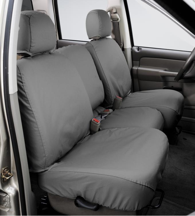 Covercraft 2006-2007 Dodge Durango SeatSaver Custom Seat Cover, Polycotton Grey SS7376PCGY