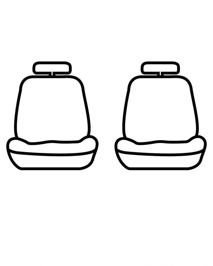 Covercraft 2016-2018 Dodge Durango SeatSaver Custom Seat Cover, Waterproof Grey SS7488WFGY