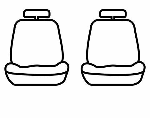 Covercraft Carhartt SeatSaver Custom Seat Cover, Mossy Oak Breakup SSC3473CAMB